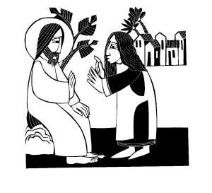 Br. Martin Erspamer, OSB Jesus and the Canaanite Woman