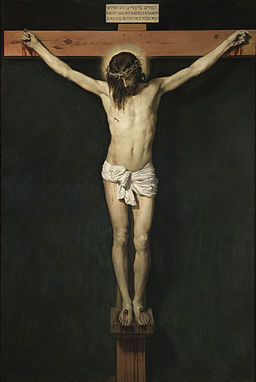 Diego Velazquez, 1599-1660 Cristo crucifado oil on canvas El Prado, Madrid