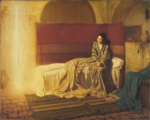 he Annunciation Henry Ossawa Tanner, American (active France), 1859 - 1937 The Annunciation, 1898 oil on canvas Philadelphia Museum of Art
