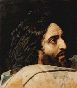 Alexander Andreyevich Ivanov (1806-1858) Head of St. John the Baptist oil on paper mounted on canvas, 1837-1857 Tretyakov Gallery