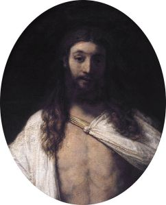 Rembrandt (1606-1669) Christ Resurrected Oil on canvas, 1661 Munich, Alte Pinakothek