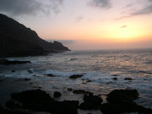 Sunrise coast La Palma Luc Viatour / www.Lucnix.be